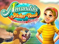 Amanda's Sticker Book: Amazing Wildlife